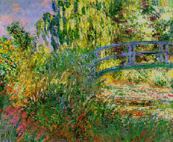 Claude Monet Path along  the Water-Lily Pond